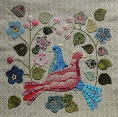 """JANE'S THREADS AND TREASURES: """"...The Caswell Quilt..."""""""