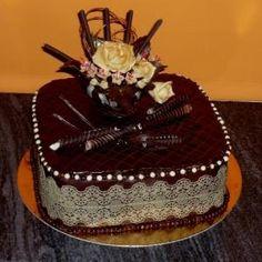 Cake Decorating Techniques, Baking, Desserts, Cakes, Pie Wedding Cake, Cake Toppers, Decorating Ideas, Recipes, Petit Fours