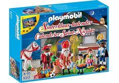 Sinterklaas-kalender (voorkant doos)
