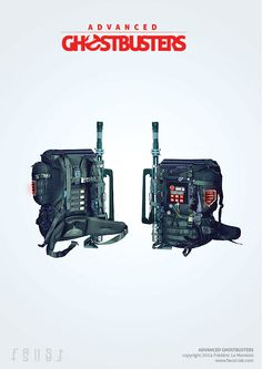 Advanced Ghostbusters backpack by faust8.deviantart.com on @deviantART