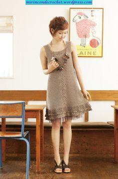 Cute dress - crochet pattern