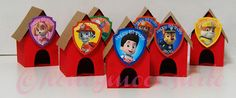 Paw Patrol Party Favors Dog House  set of 14 by HoneymoonSuite, $29.99