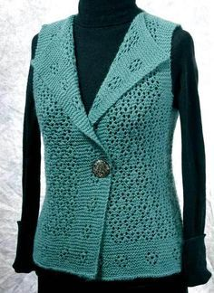 Fiddlesticks Knitting--Dorothy Siemens--Rosebud Vest