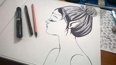 #mermaids #drawings #trattopen #handmade #fromvalewithlove