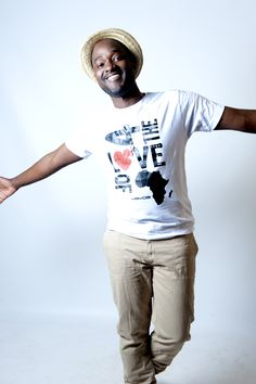 """By kwabena boateng of Kayobi """"So why did i start Kayobi ?    Its simple, there were no shirts expressing the beauty, energy and genius of the Africa i know.       So yes its all for the Love of Africa.""""  http://www.shop.kayobiclothing.com"""