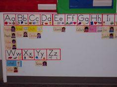 Preschool Word Wall
