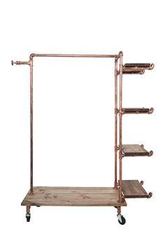 Newtech Display IND-R4/BR Single Rack with 4 Wood Shelves... https://www.amazon.com/dp/B01HDZT0RI/ref=cm_sw_r_pi_dp_x_l3w8xb5EXMBCH