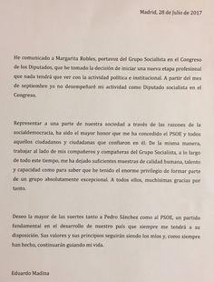 TOYYYY_ESTUDIANDO: España Eduardo Madina deja su escaño en el Congres...