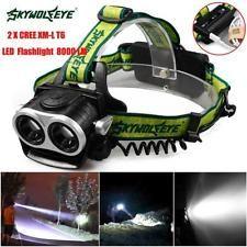 10000LM CREE T6 LED Headlamp Tactical Headlight Flashlight Head Light Lamp UK