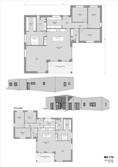 - Se plantegninger til funkishuse her Good House, House 2, Floor Plans, Construction, Flooring, How To Plan, Sims 4, Building, Inspiration