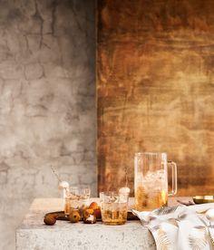 Glaskande med tryk | Klart glas/Palmeblad | Home | H&M DK