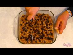 No Bake 5 inged Peanut Butter Oatmeal Bars - Princess Pinky Girl Protein Bar Recipes, Snack Recipes, Dessert Recipes, Snacks, Freezer Recipes, Breakfast Items, Breakfast Cookies, Breakfast Dishes, No Cook Desserts