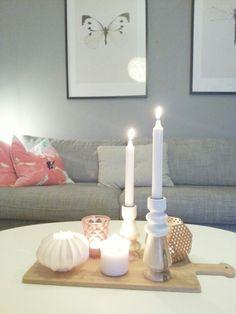 Livingroom candles Candles, Living Room, Home, Ad Home, Candy, Home Living Room, Drawing Room, Homes, Candle Sticks