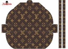Preciosos Bolsos deLouis Vuitton para Imprimir Gratis que sin duda encantarán a las invitadas a una Fiesta de 15 Años, Cumpleaños d...