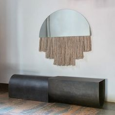 @luur_studio U bench with mirror by @benandajablanc. #obsessed #inspiration #thefutureperfect
