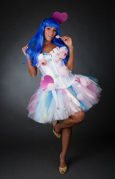 Costume idea: Katy Perry. Okay, so I wouldn't really do this one, but it cracks me up!