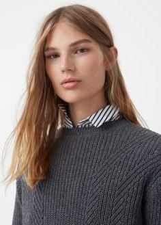 Pullover cotone lana