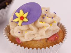 Cardamom Rhubarb Cupcake Recipe : Food Network - FoodNetwork.com