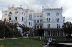 Miramare, il castello della principessa Sissi...