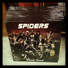 Spiders debut LP from Crusher Records