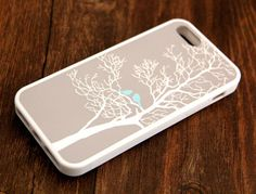 Free Shipping Tree And Birds iPhone 6 Plus iPhone 6 iPhone 5S iPhone 5C iPhone 5 iPhone 4S/4 Rubber Case