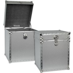 Found it at Wayfair - Embossed Steel Tall Cube Storage Trunk