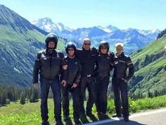 Rückreise von Damüls, durch das Bregenzerwaldgebirge