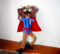 The Beast  Puppet from Beauty and the Beast  Russian by Meoneil, $40.00