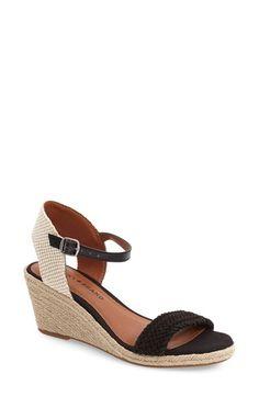 Lucky Brand 'Katereena' Wedge Sandal (Women)
