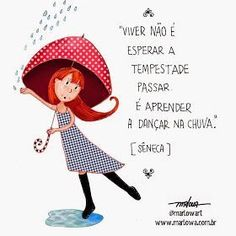 Xtoriasdacarmita: Palavras, que encontrei: Umbrella Cards, Good Morning People, Carpe Diem, True Words, Positive Thoughts, Happy Day, Words Quotes, Crafts For Kids, Card Making