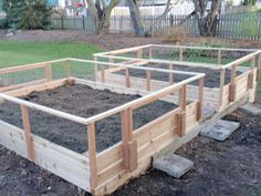 rabbits raised bed garden Installed next to my existing garden