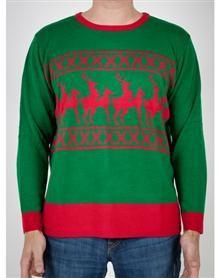 Reindeer Games Adult Sweater