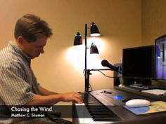 """I love this song, it is so beautiful. It sounds heavenly! I started hearing it on the weather station in 2011. """"Chasing the Wind"""" By Matthew C. Shuman - (Official) - Weather Channel Music"""