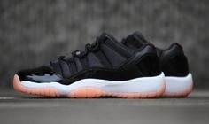 9dc9aed391fe Air Jordan 11 Retro Low GG Black Bleached Coral White Release Date