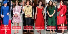 The Cost of Being Kate Middleton: All the Details on Everything ...