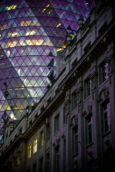 Modern meets Classical Architecture, London | England