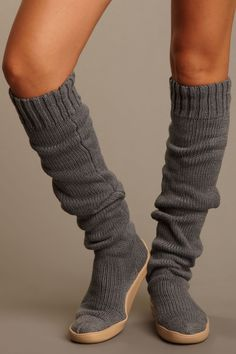 "Gypsy 05  Solid 26"" Knit Boot"
