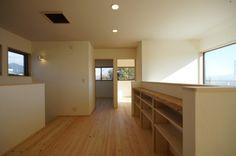 カフェのようなダイニングコーナーのある家・空間工房ロハス