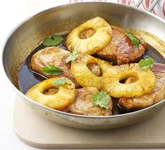 The classic combination of pork and pineapple lives on in this slightly retro and irresistible sweet and sour one-pan dish