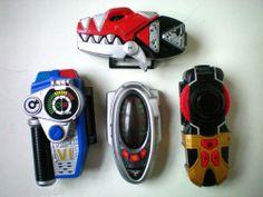 Collection of Power Rangers Morphers Inc SPD,Chrono,Dino Thunder - Light/Sounds