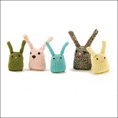 Bluebird of happiness free knitting pattern this is so cute free knitting pattern bunnies make for second easter negle Gallery