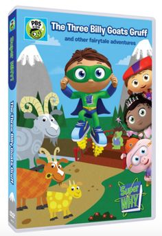 "#Giveaway: Win the DVD ""Superwhy: Three Billy Goats Gruff & Other Fairy"" (Ends 2/26)"