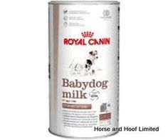 Royal Canin Baby Dog Milk 2kg Royal Canin Baby Dog Milk is a complete milk replacer suitable for puppies from birth all the way up to weaning.