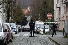 A polícia belga também montou uma operação no distrito de Molenbeek