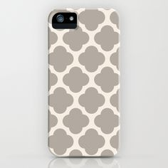 gray clover iPhone Case by Beverly LeFevre | Society6