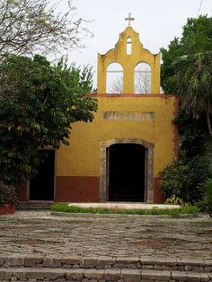 Hacienda San Jose, Chapel. Yucatan, near Merida.