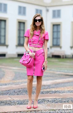 Hilton went street with Moschino Barbie series -