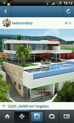 Casa deluxo com piscina enorme