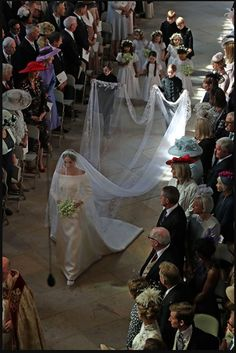 Analyzing Megan Markle's Wedding: Dress, Tiara, Veil, Ring and Bouquet of Flowers, Thought by Prince Harry Himself