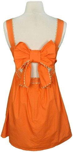 Gameday dress with a super cute back!